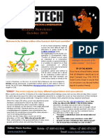 Exactech Fraud Risk Management Newsletter Oct 2018