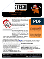Exactech Fraud Risk Management Newsletter December 2018