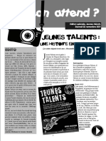 Keskon Attend Jeunes Talents 2011