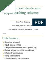 6 Crypto Hashing
