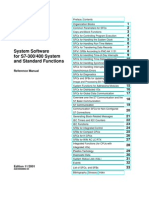 System and Standard Functions for S7-300 and S7-400