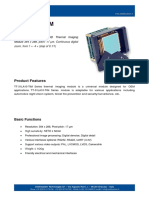 TT 31LA10 TIM Datasheet - THERMOGRAPHIC MODULES