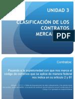 Unidad 3 . Clasificación de los contratos mercantiles