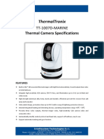 ThermalTronix TT 1007D MARINE Datasheet - SECURITY SYSTEMS