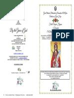 2018 -4 Dec-festal Vespers-st Barbara