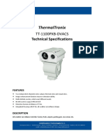 ThermalTronix TT 1100PXB DVACS Datasheet - SECURITY SYSTEMS