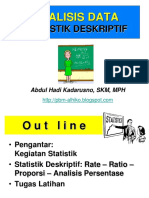 slide VII- STAT KES - Analisis Persents -Rate- Proporsi n Ratio - Senin 16-4-2015.ppt