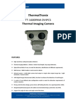 ThermalTronix TT 1600PAM DVIPCS Datasheet - SECURITY SYSTEMS