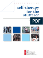 Self Therapy for the Stutterer
