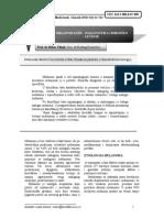 MELANOM KOŽE DIJAGNOSTIKA I HIRURŠKO LEČENJE. Medicinski fakultet Univerziteta u Nišu; Klinika za plastičnu i rekonstruktivnu hirurgiju; (1).pdf