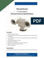 ThermalTronix TT CXS DVACS Datasheet - SECURITY SYSTEMS