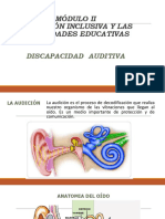 Ppt Modulo II Disc. Auditiva