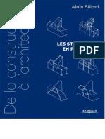 (De la construction à l'architecture 2.) Billard, Alain-De la construction à l'architecture _ les structures en portiques-Eyrolles (2016)