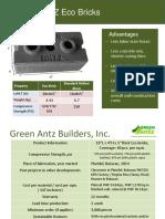 Green Antz Eco Bricks