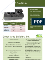 Green Antz Eco Bricks