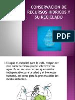 Conservacion de Recursos Hidricos y Su Reciclado - Imp. Ambien. (1)