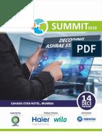 ASHRAE Summit 2018 Brochure