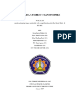 Analisa Current Transformer