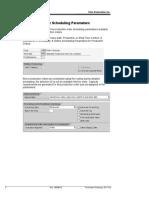 Order Sch Parameters