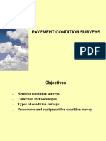 Pavement Condition Surveys