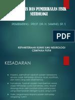 Anamnesis Dan Pemeriksaan Klinis Neurologi by FY
