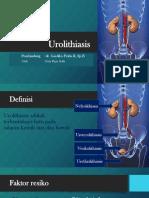 Urolithiasis - Ibnu