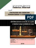 Introdcuccion a Las Ciencias Juridicas