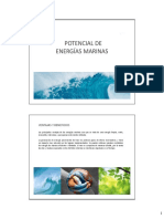 1.- Energías Marinas