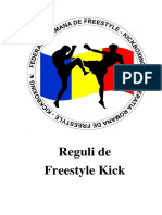 Reguli Freestyle Kick 13.01.2018