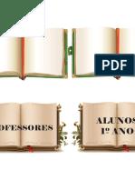 Tarjeta de Identificação Dos Livros