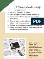 UD 2 El Mercado de Trabajo