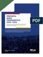Bases Programáticas 2020-2025 Del Frente Amplio