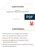 Modulo 3 Solar Termicos