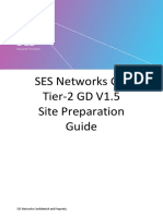 SES Networks GSI Tier-2 GD V1.5 Site Preparation Guide_MAN_GSI_004_Rev_2.0