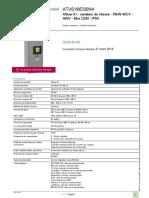 Altivar 61 (Remplacé Par Altivar Process ATV600)_ATV61WD30N4