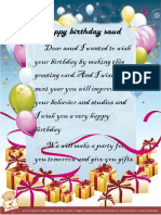Happy Birthday Saud