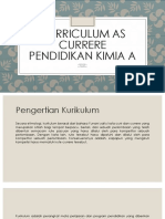 Curriculum as Currere