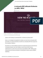 Cómo Hackear La Contraseña WiFi