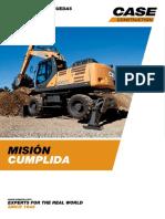 Wheeled Excavators Wx188 Wx218 Brochure Es[1]