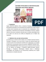 Anatomía Patológica e Histopatología Bucodentaria Con Otras Ciencias