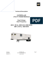 Utility Power Module Caterpillar