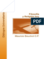 BEUCHOT, Mauricio - Filosofia y religion hoy, UIA León (León, México), 2009.pdf