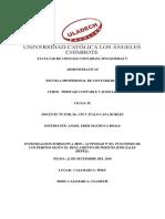 Resumen Actividades III Unidad a Distancia (Virtual)