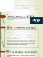 Climate Change and Youth