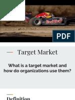 olympics unit - target market slides