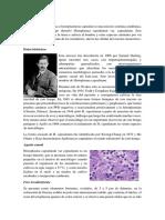Medicina Tropical HISTOPLASMOSIS