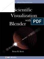 3D Scientific Visualization With Blender