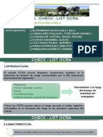 CheckList Ocra