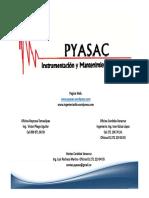 Catalogo PYASAC