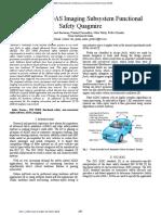 Resolving ADAS Imaging Subsystem Functional Safety Quagmire
